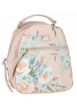 Рюкзак david jones с цветочным принтом