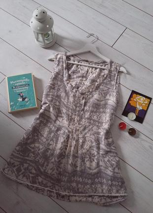 Чудесная блуза из нежного хлопка и натурального шелка...#00355