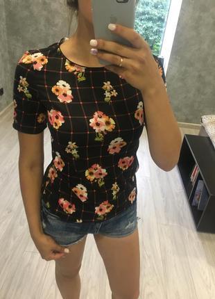 Блуза/блузка/с принтом/стильная/новая