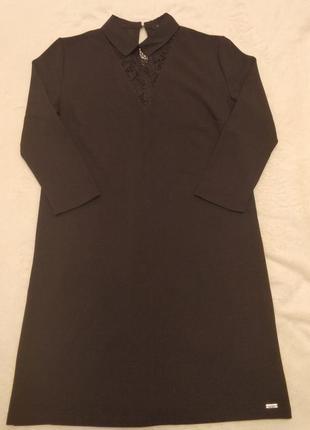 Чёрное платье mohito