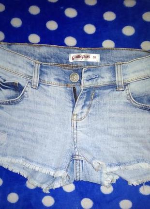 Джинсовые шорты gloria jeans