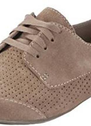 Clarks английскиеские кожаные туфли броги оксфорды р.37/24 в идеале
