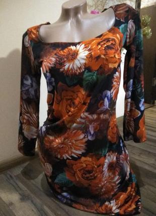 Яркое платье в цветы, бельгия.
