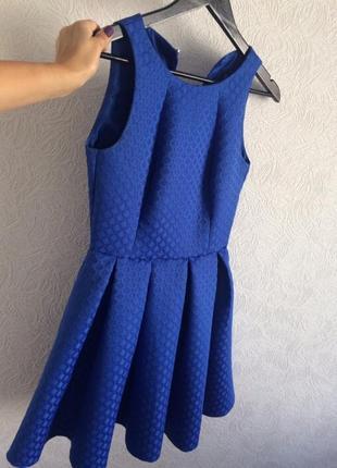 Продаю синее, красивое платье