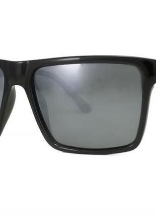 Поляризованные мужские солнцезащитные очки marc john черная рама линза  трапеция 2794e91244d