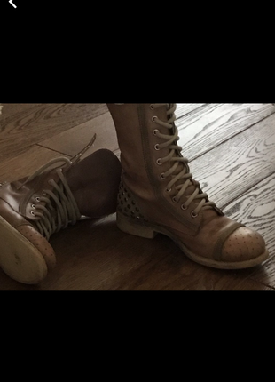 Ботинки baldinini кожа