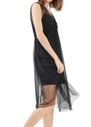 Невероятное фатиновое платье topshop