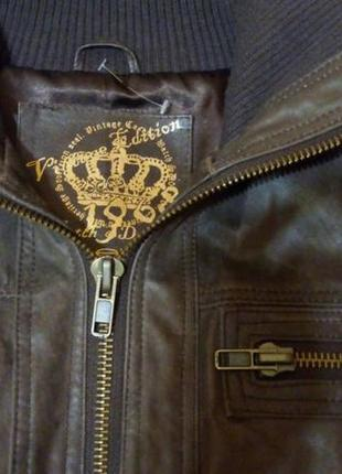 Куртка кожаная new look