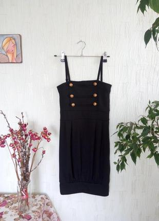 Коротке нарядне чорне маленьке плаття/короткое нарядное черное маленькое платье