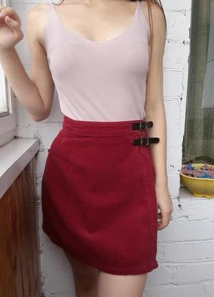 Вельветовая юбка от marks&spencer