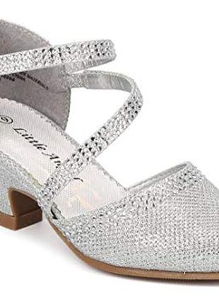07d9d6ee Детские туфли на каблуках для девочек 2019 - купить недорого детские ...