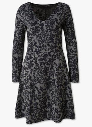 Новое осеннее платье р.xl на наш р.54-58 фирмы c&a, батал, германия