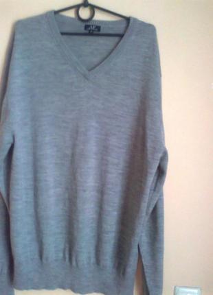 Шерстяная кофта*свитер*джемпер*шерсть 100%