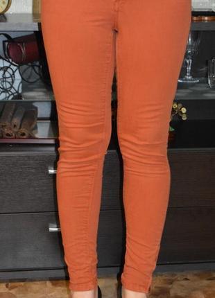 Джинсы zara , штаны, скины, брюки, скины обтягивающие