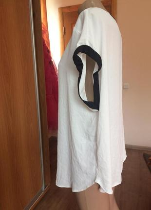 Белая блуза с замочком!3