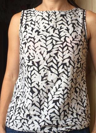 Стильная льняная блуза