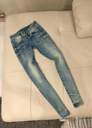 Женские джинсы g-star raw skinny, оригинал, размер s