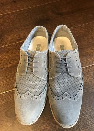 Замшевые туфли vapiano