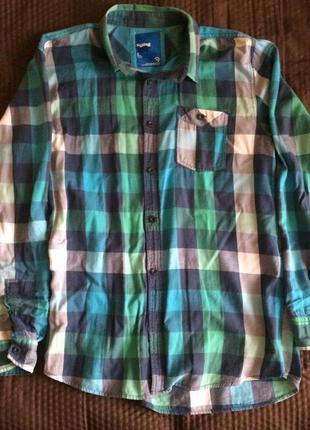Рубашка в клетку house