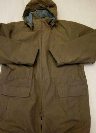 Мужская защитная куртка на флисе lands'end