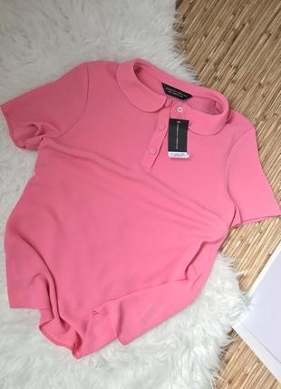 Розовая блузка новая с биркой dorothy perkins