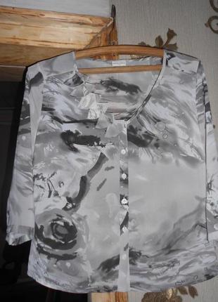 Блуза пог 56 см. длина 55 см1 фото