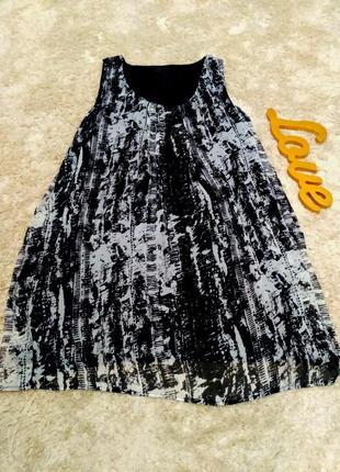 Плаття жіноче шифонове, розмір l