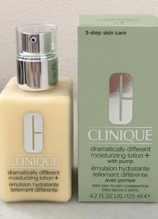 Clinique уникальное увлажняющее средство dramatically different moisturizing lotion125мл