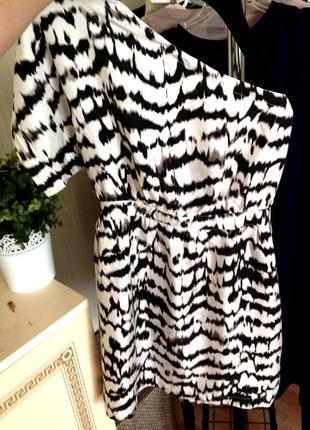 Супер красивое шёлковое платье warehouse 100% шёлк после химчистки
