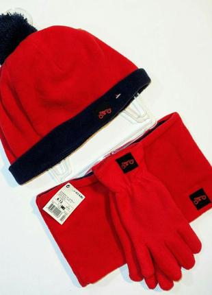 Комплект шапка+хомут+перчатки kiabi (франция)