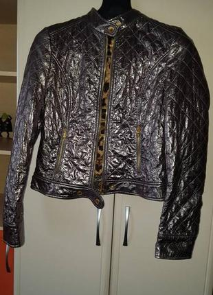 Меттализированная куртка от dolce&gabbana (оригинал)