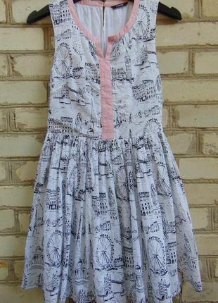 Замечательное платье на подкладке для девочки 13-14 лет, george.1