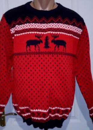 Новый свитер с оленями. англия