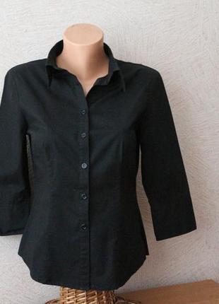 Dorothy perkins- комфортная, офисная блузка рубашка, р. m-l