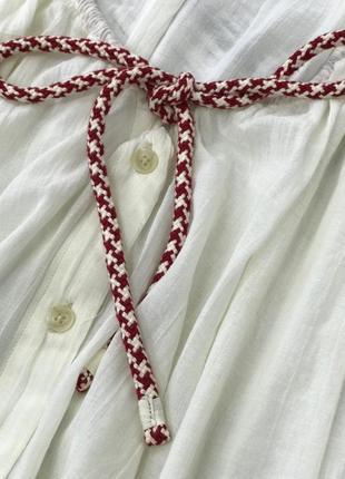 Актуальная летняя блуза свободного кроя   bl1830049  h&m studio3 фото