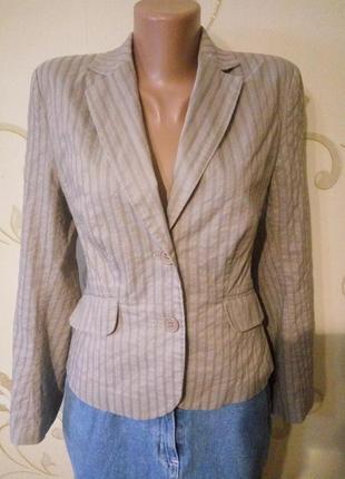 Красивый и удобный классический пиджак жакет . размер 12