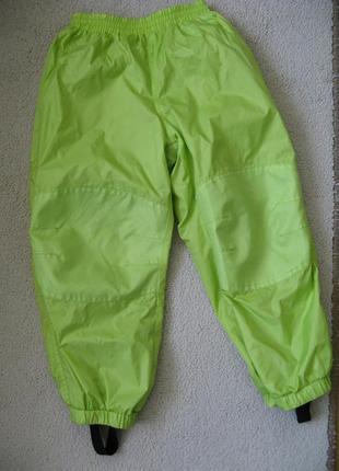 Яркие демисезонные штаны h&m 110р 4-5л