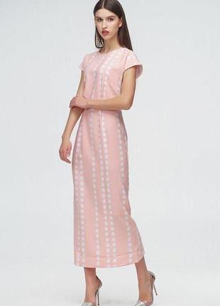 Супер платье в горошек andre tan