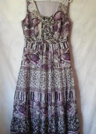 Платье-сарафан 100% хлопок л-хл  gerry weber