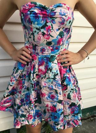 Нарядное платье от h&m