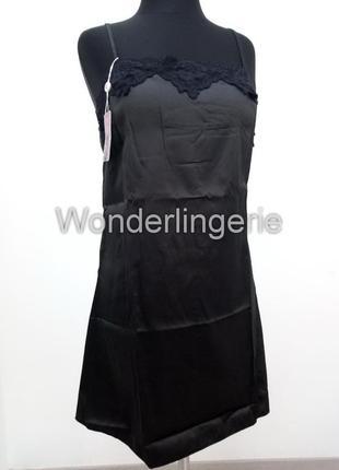 Jacqueline черный комплект набор халат с пеньюаром и стринги5 фото