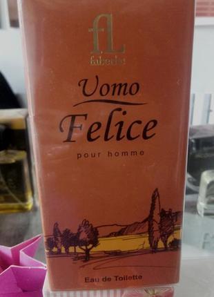 Туалетная вода для мужчин uomo felice faberlic фаберлик