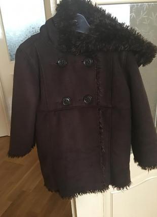 Дублёнка детская, пальто