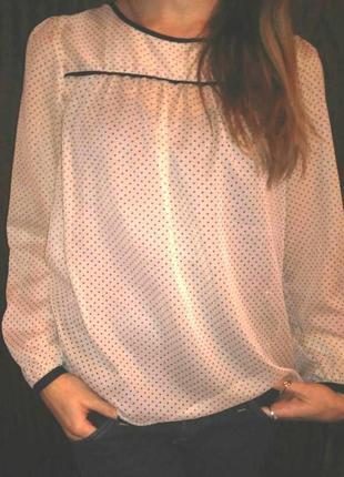 Блуза в горошек hsm