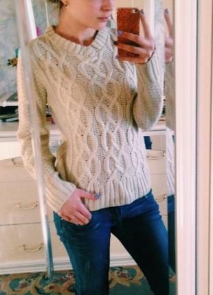 Милый вязанный свитер atmosphere