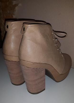 Новые кожаные ботинки ботильоны scorett5