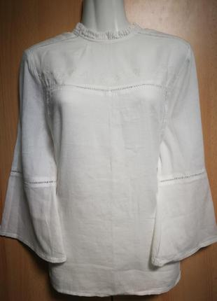 Красивая хлопковая блуза