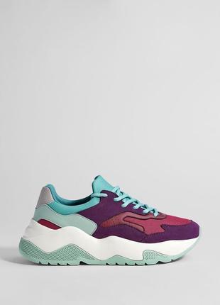Новые стильные кроссовки bershka (35,36,37,38,39,40,41) стиль balenciaga