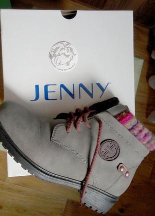 Ботинки (зима) немецкой марки jenny by ara (оригинал),38 размер