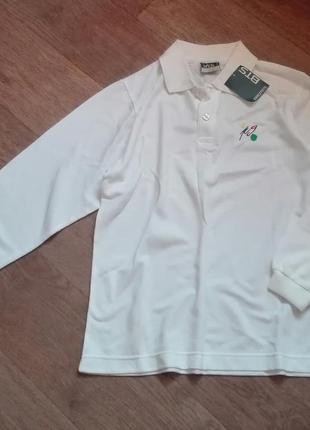 Стильна трикотажна сорочка-поло спортивного типу розмір s, бренду brotes, іспанія